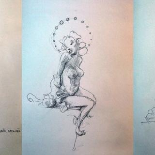 Boskie ciało - szkic